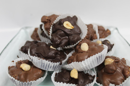 Roasted Peanuts and Chocolate.......Keeping it simple!