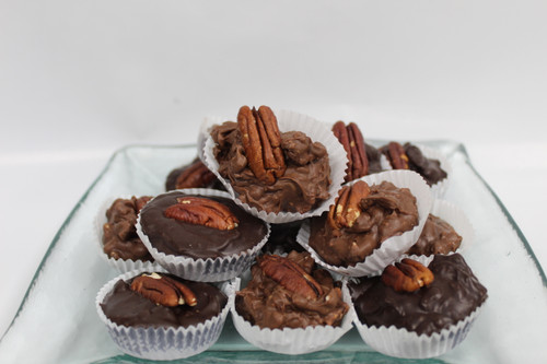 Roasted Pecans and Chocolate.....keeping it simple!