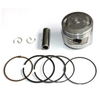72cc Piston and Rings, Wrist Pin Lazer 5