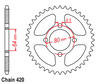 Kandi gokart performance sprocket