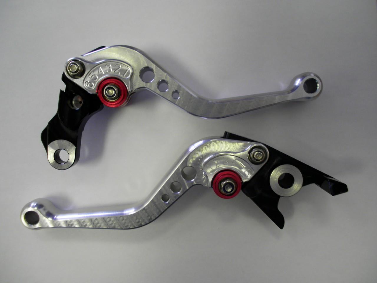 Hyosung Adjustable Anodized Race Levers - Lever Set