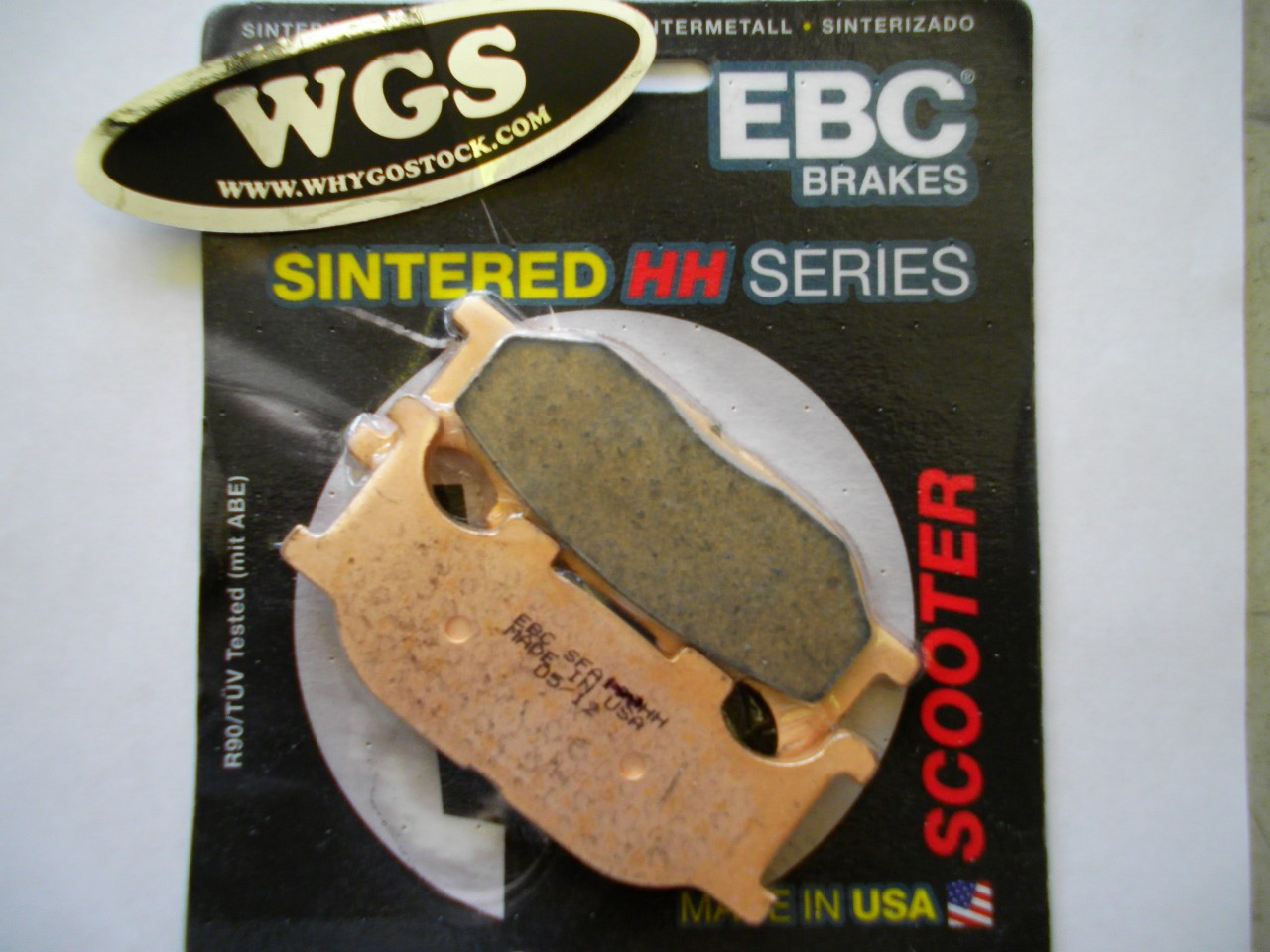 Brake Pads - High Performance Front V3, V5 CFMOTO Legacy and Sapero Qlink (FRONT)