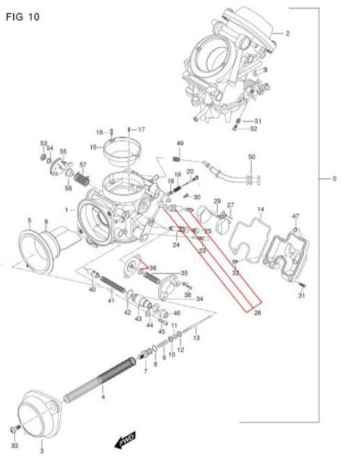Hyosung 650 Float Bowl Gasket O-ring Carburator