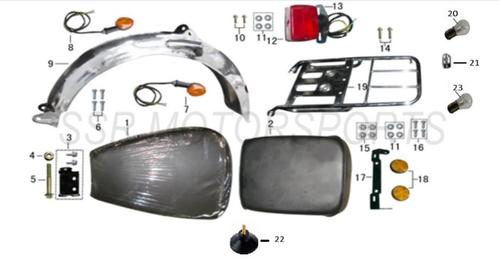 SSR Lazer 5 Turn Signal Rear