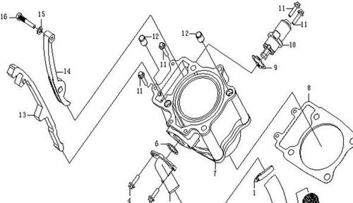 CFMOTO Cam Chain Guide Tensioner 500 600 2007 - 2016