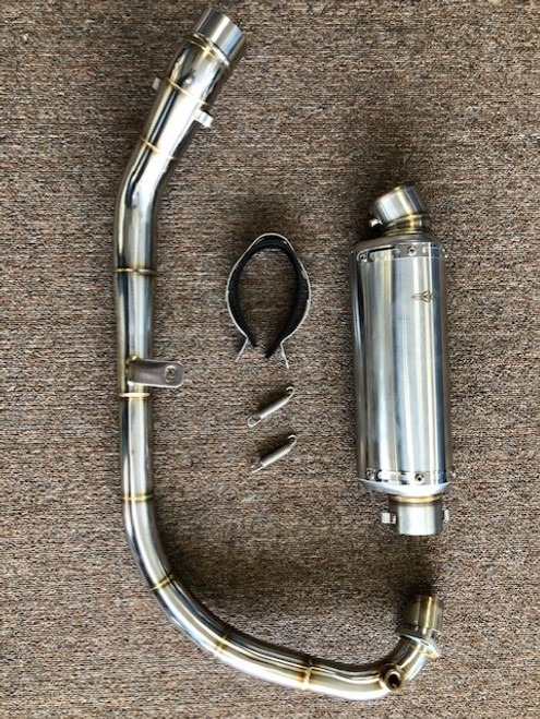 American Lifan KPR 200 and KP 200 Performance Exhaust