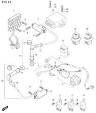Hyosung Starter Motor Lead Wire GT650R GT650S GT650 RX125