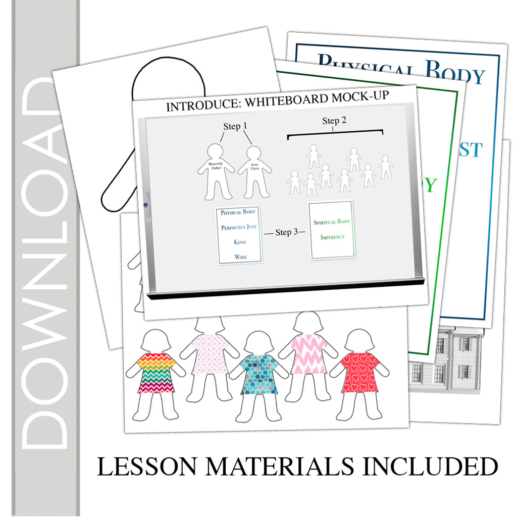 February Young Women Lesson Plan - Materials Included