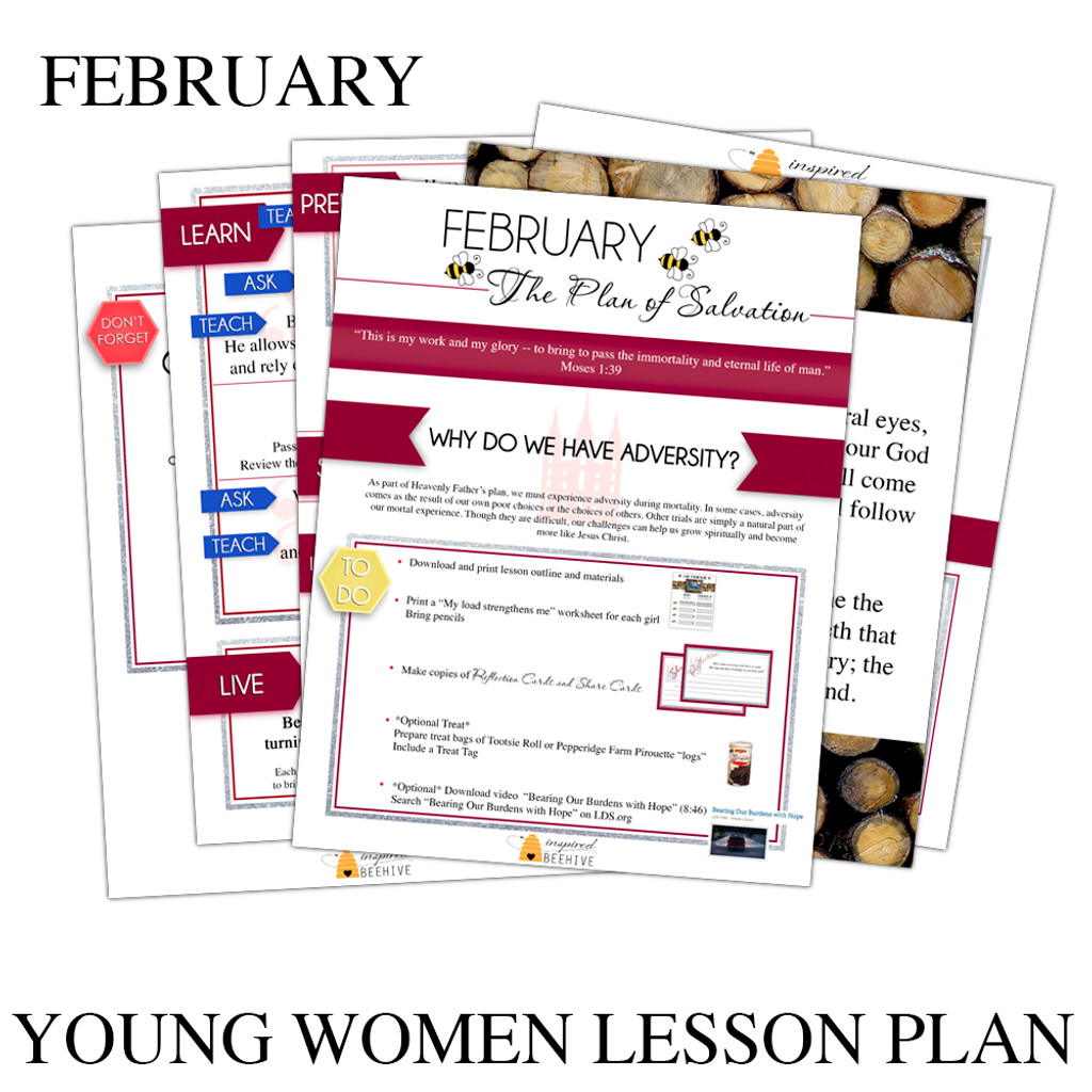 Complete February Young Women's Lesson Plan