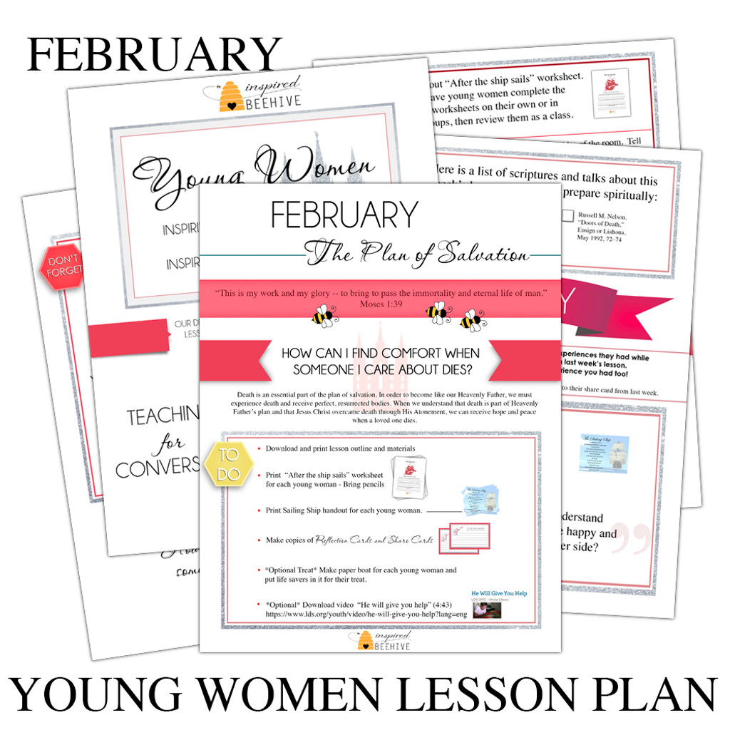 Full Young Women Lesson Outline
