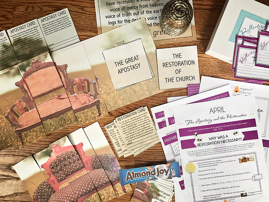 Why Was a Restoration Necessary? - April Young Women Lesson Plan