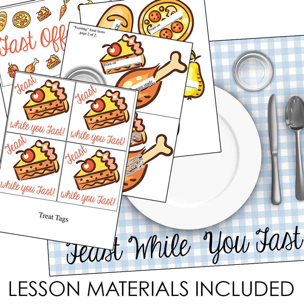 Why Do We Fast Young Women Lesson Materials