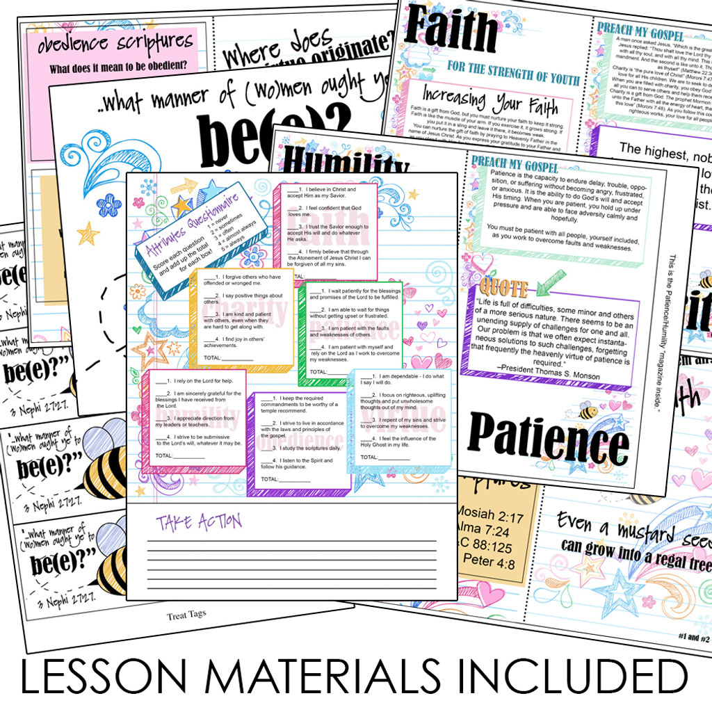 How Can I Become More Christlike Lesson