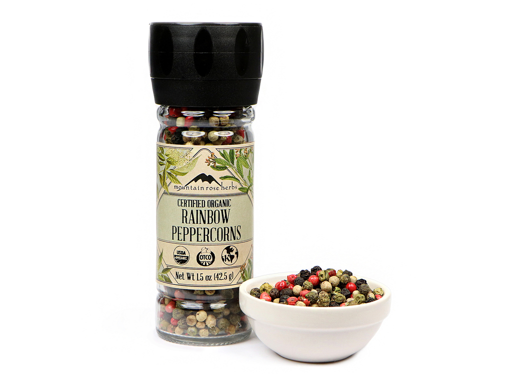 Organic Rainbow Peppercorns