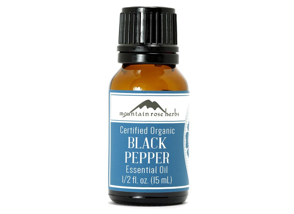 Organic Black Pepper Essential Oil