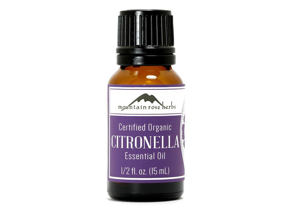 Organic Citronella Essential Oil