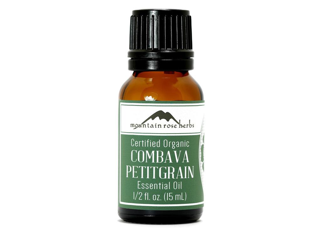 Organic Combava Petitgrain Essential Oil