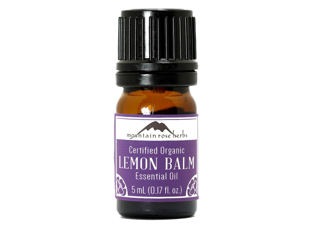 Organic Lemon Balm Essential Oil