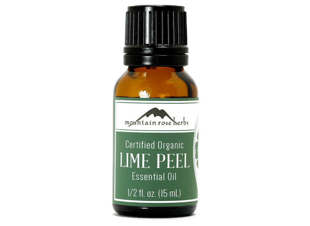 Organic Lime Peel Essential Oil