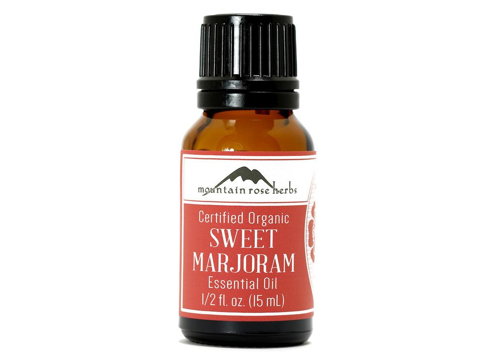 Organic Sweet Marjoram Essential Oil