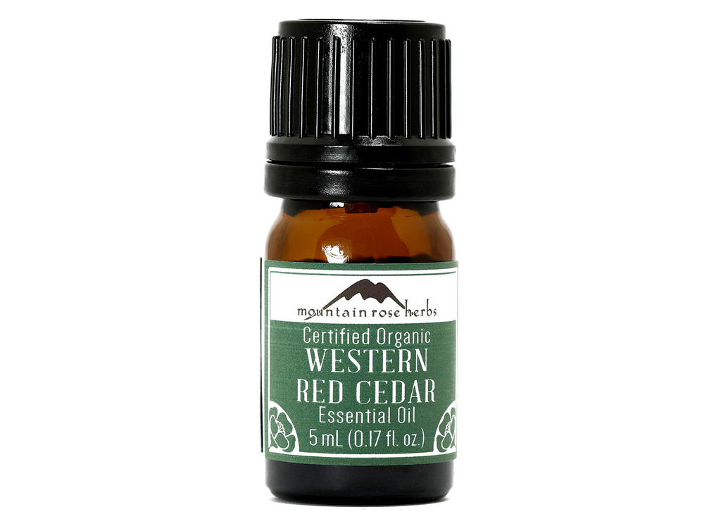Organic Western Red Cedar Essential Oil