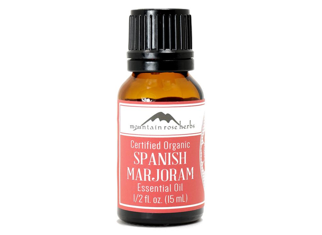 Organic Spanish Marjoram Essential Oil