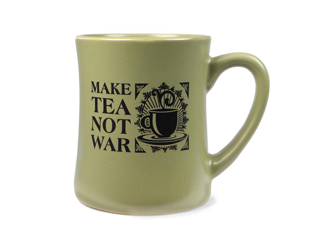 Ceramic Mug, Make Tea Not War