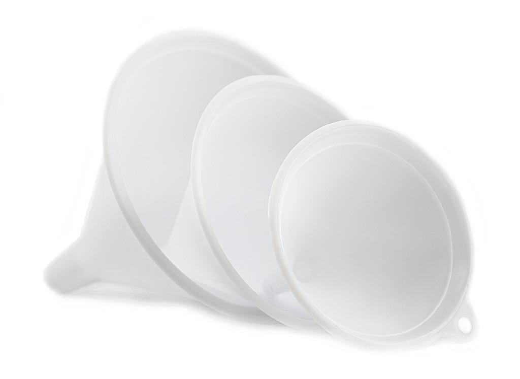 Plastic Funnels, Set of 3