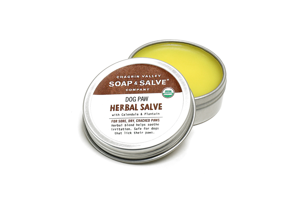 Dog Paw Herbal Salve