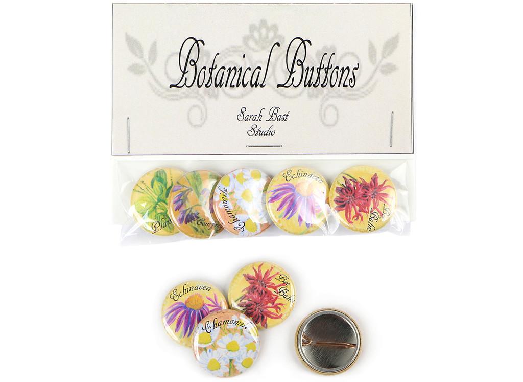 Botanical Button Set