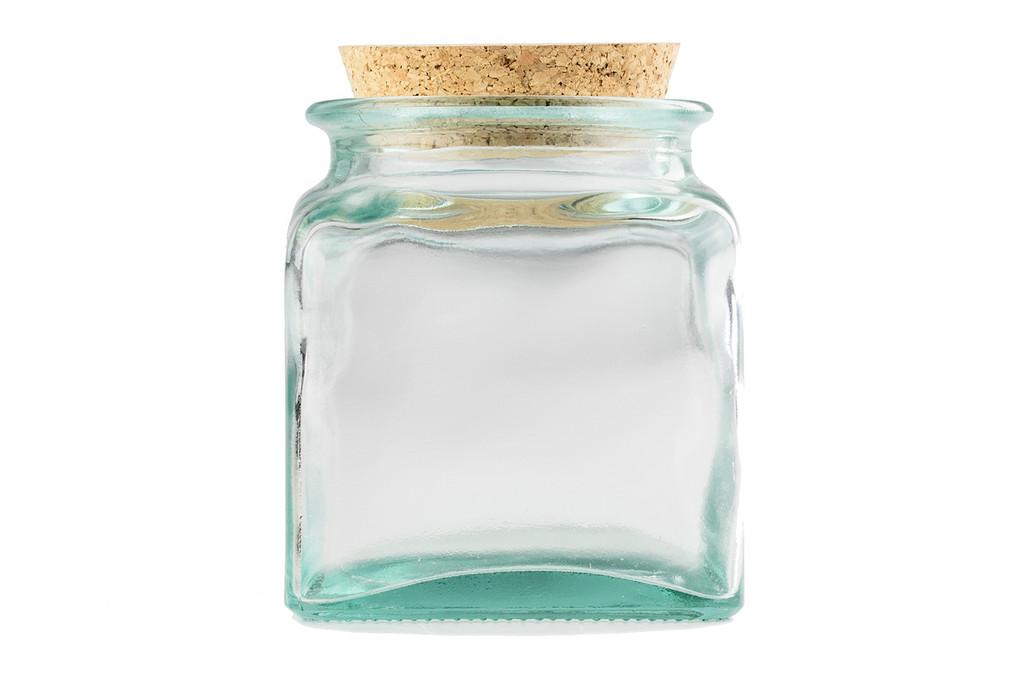 Wide Mouth Glass Jar