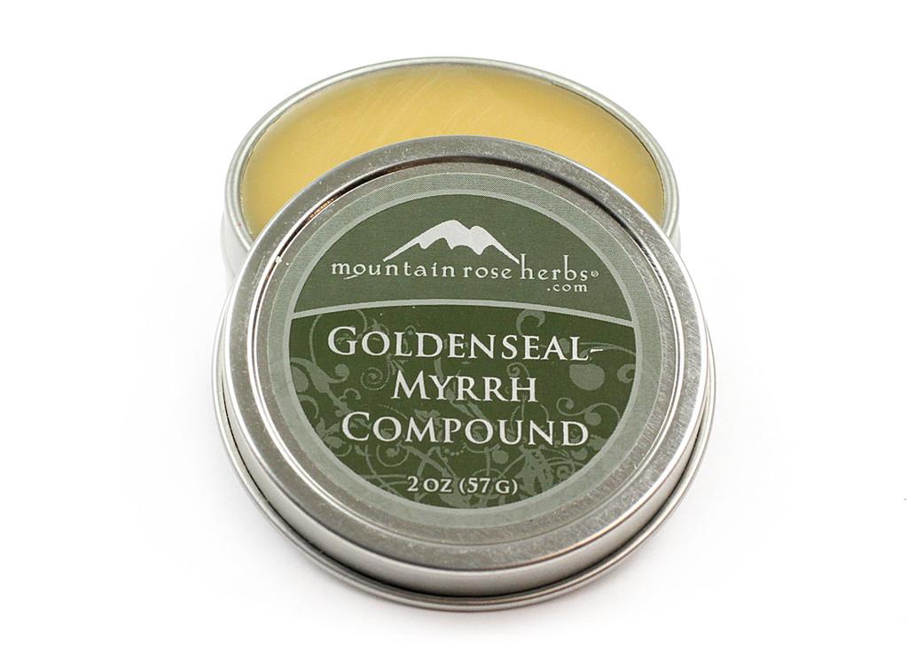 Goldenseal Myrrh Compound