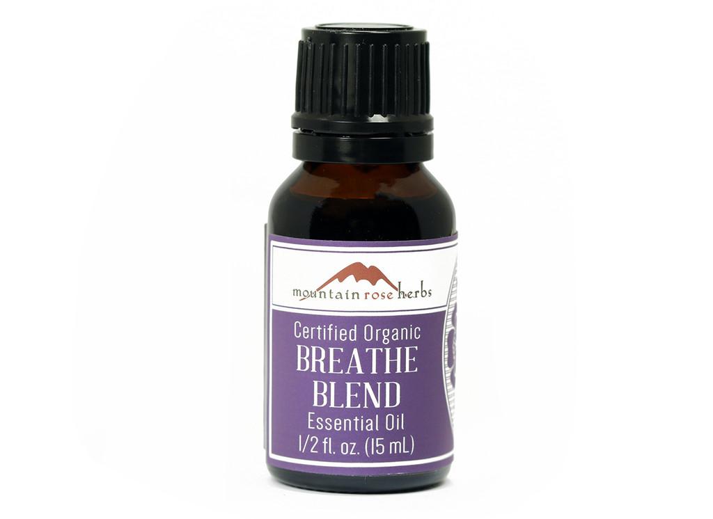 Organic Breathe Essential Oil Blend