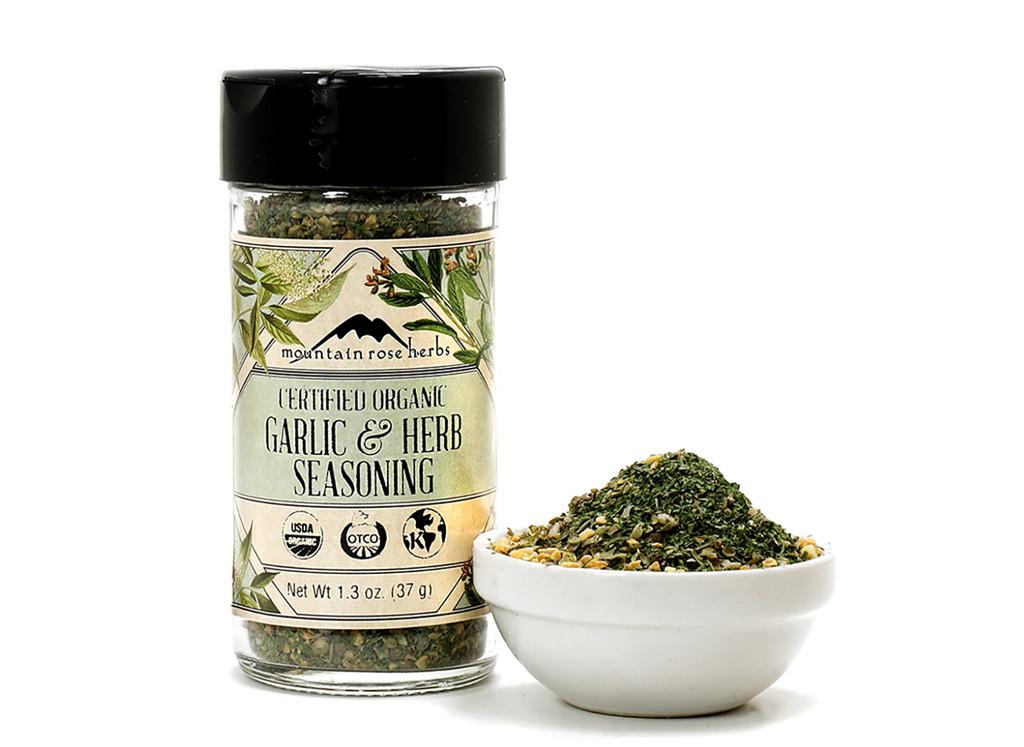 Organic Garlic & Herb Seasoning