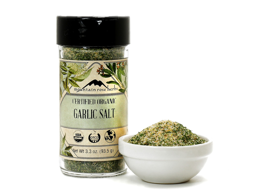 Organic Garlic Salt