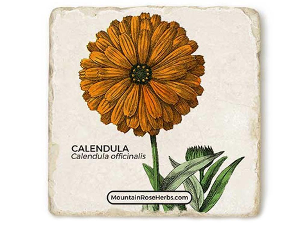Calendula Stone Coaster