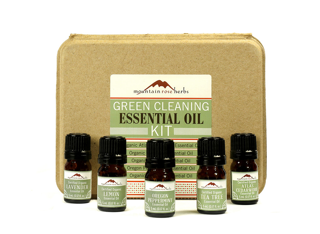 Green Cleaning Essential Oil Kit