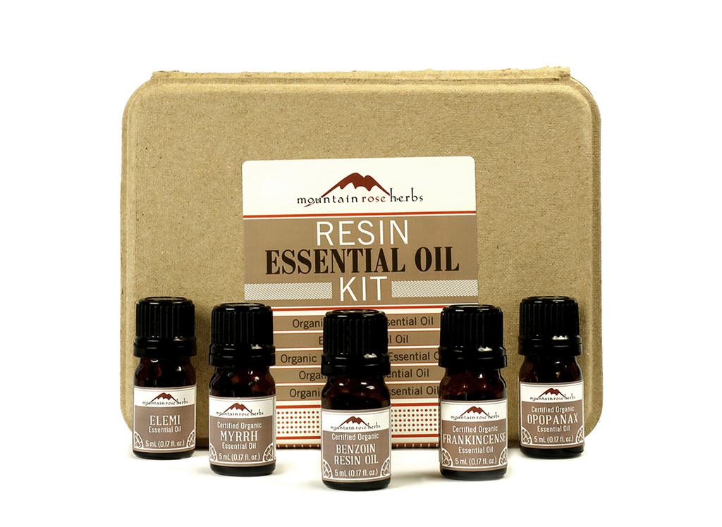 Resins Essential Oil Kit