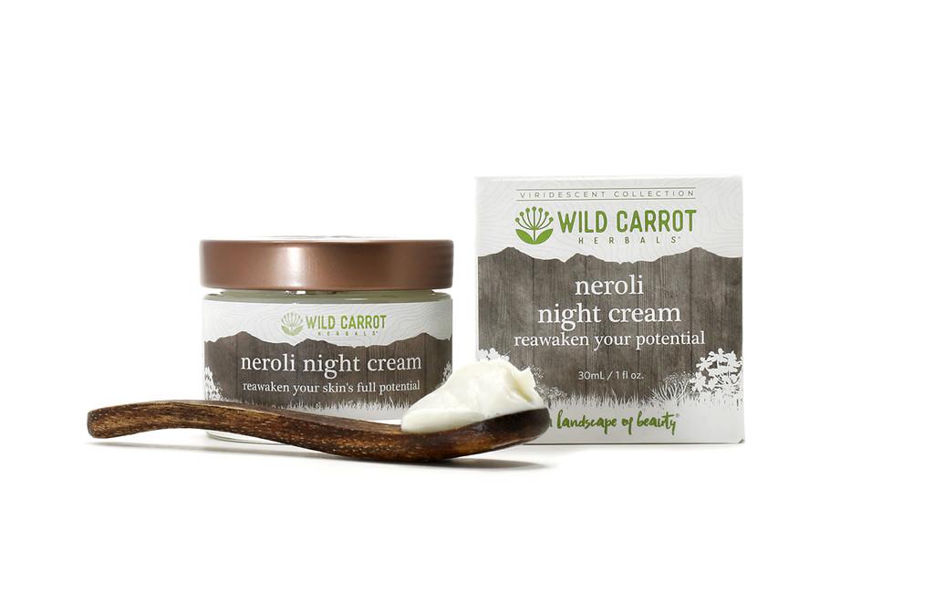 Neroli Night Cream from Wild Carrot Herbals