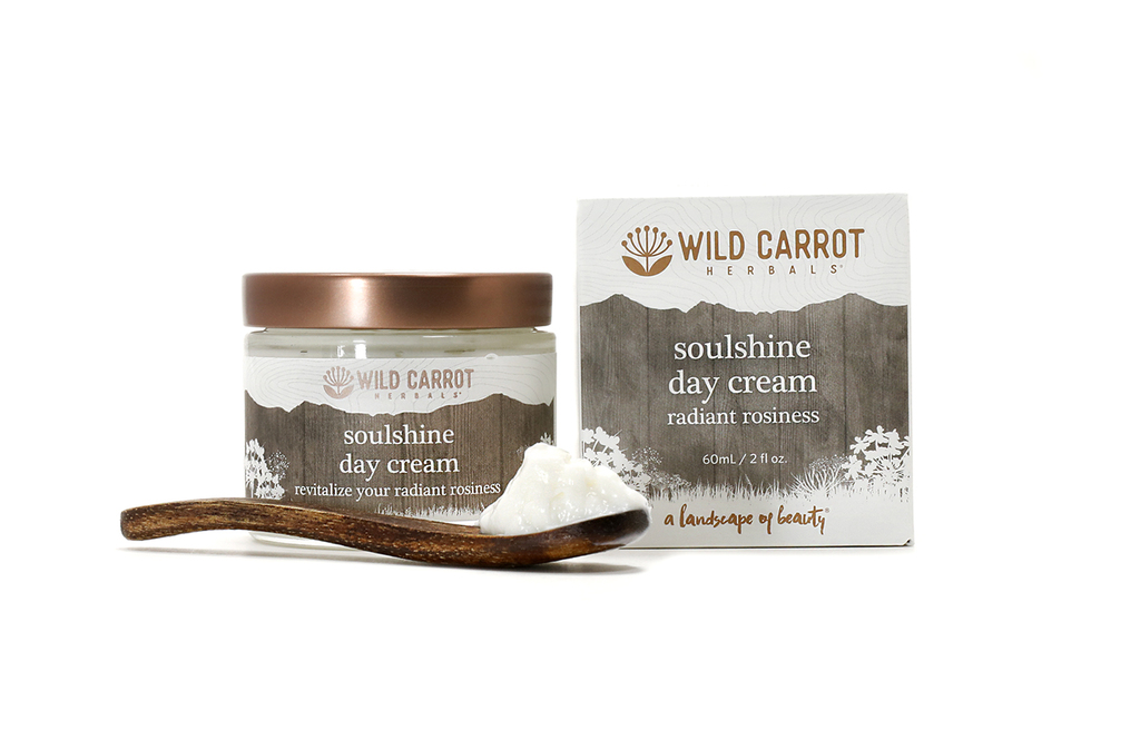 Soulshine Day Cream from Wild Carrot Herbals