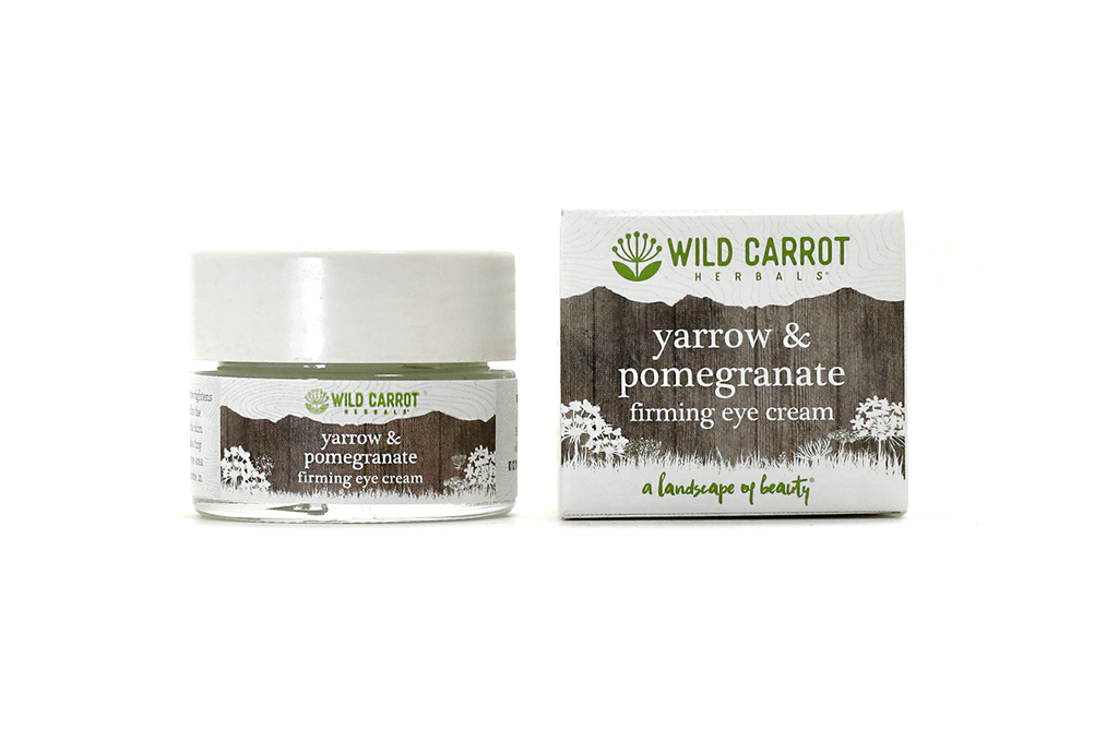 Yarrow & Pomegranate Eye Cream from Wild Carrot Herbals