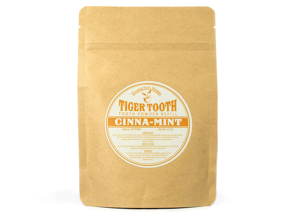 Tiger Tooth Tooth Powder Refill