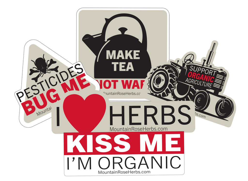 Mountain Rose Herbs Stickers