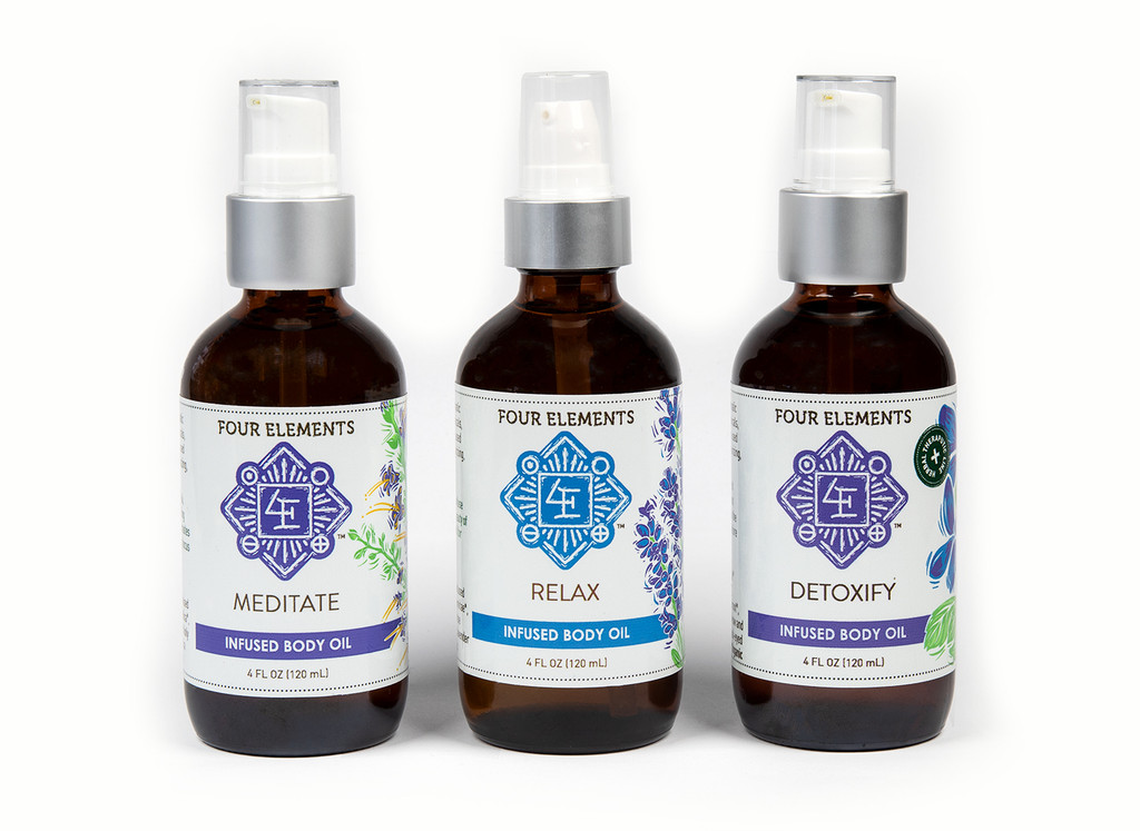 Four Elements Infused Body Oil