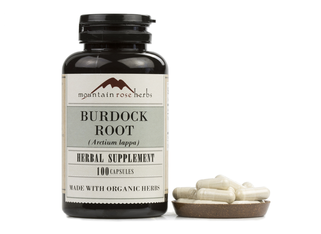 Burdock Root Capsules