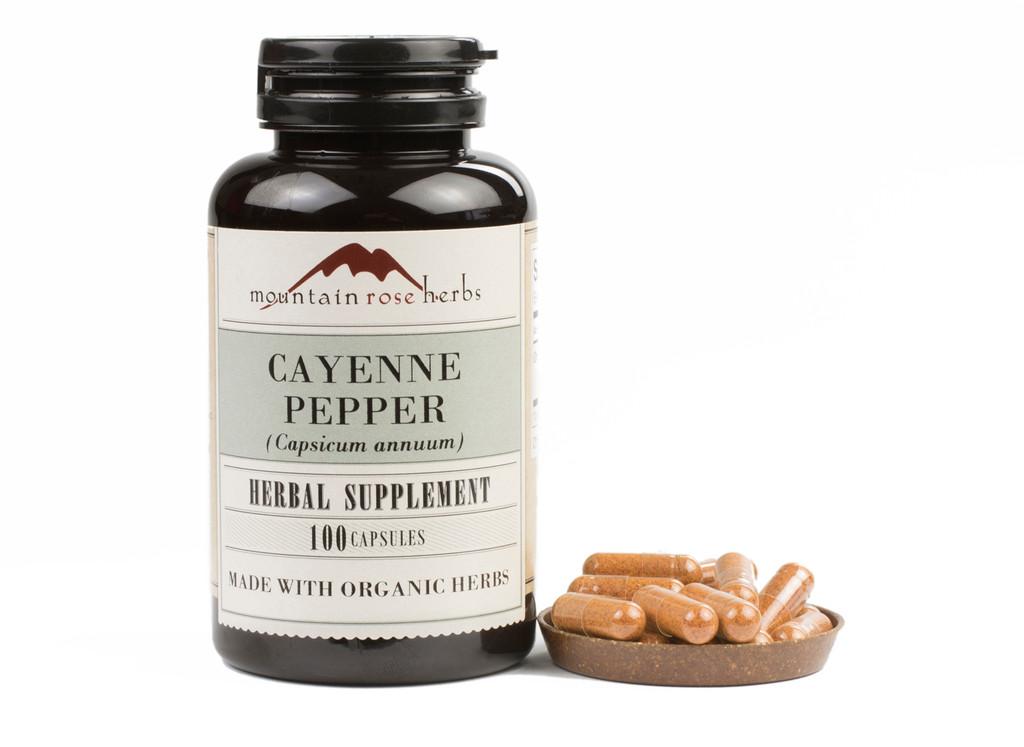 Cayenne Pepper Capsules
