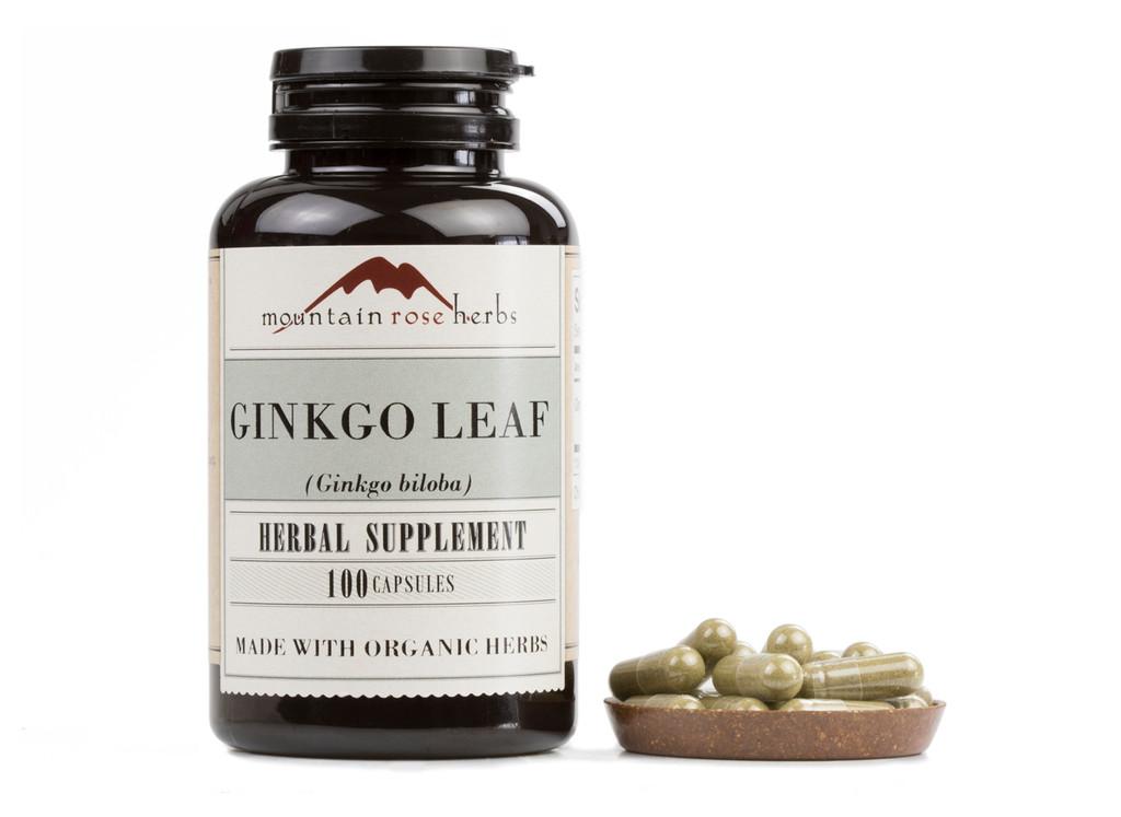 Ginkgo Leaf Capsules