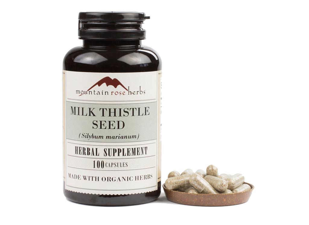 Milk Thistle Seed Capsules