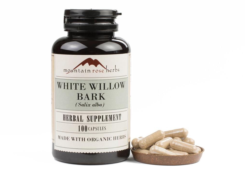 White Willow Bark Capsules