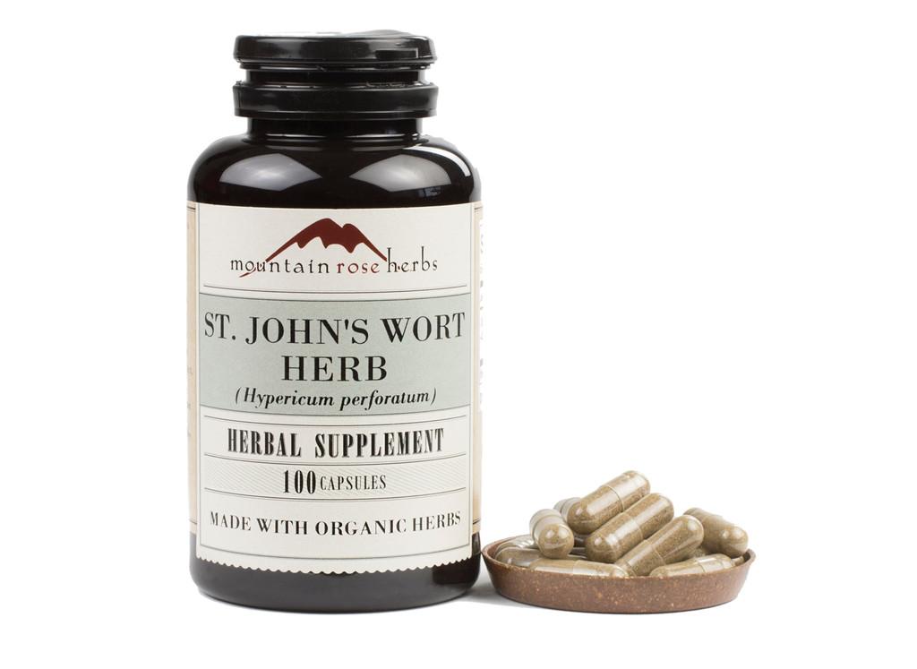 St. John's Wort Herb Capsules